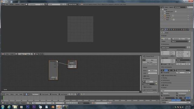 Adding full frame motion blur to a shot