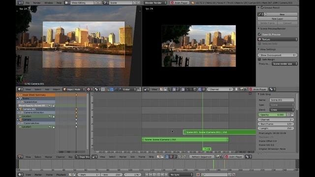 Animating and Rendering the Slide Show