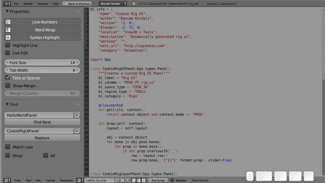 Turning the Script Into and Add-on
