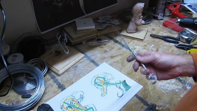 Building a Wire Armature