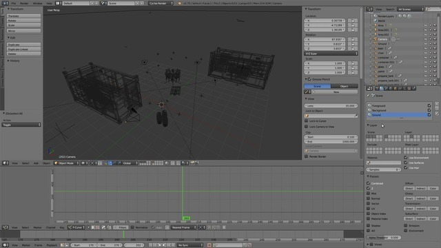 Setting up the Ground & Starting Compositing