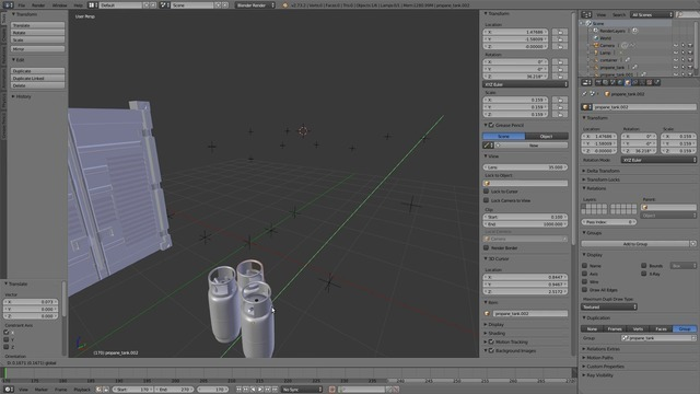 Adding 3D Objects to the Scene