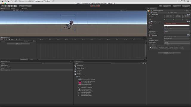 Animating 2D Sprites