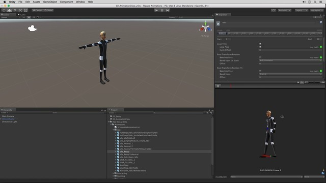 Using Animation Clips
