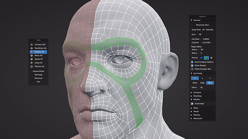 Live Demo of RetopoFlow 2.0 with Jonathan Williamson