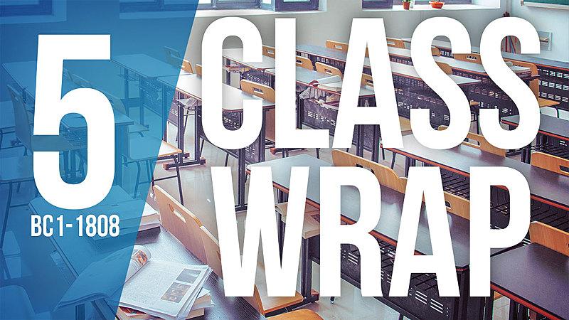 Class Wrap - BC1-1808
