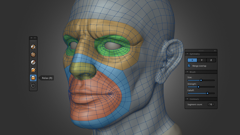 Retopology with RetopoFlow 2.0