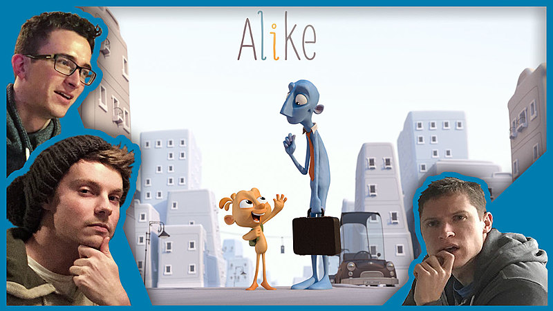 "Blender Film Review: ""Alike"""