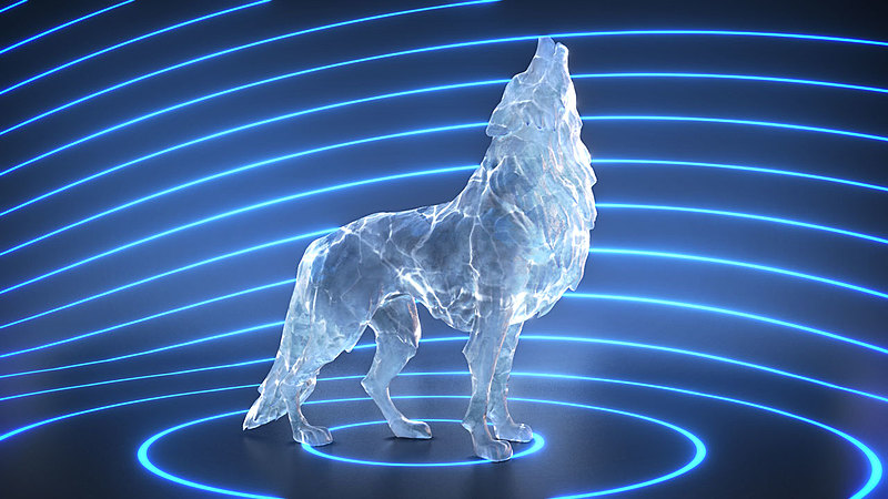 Creating an Icy Wolf Sculpture with Blender 2.8 and Eevee