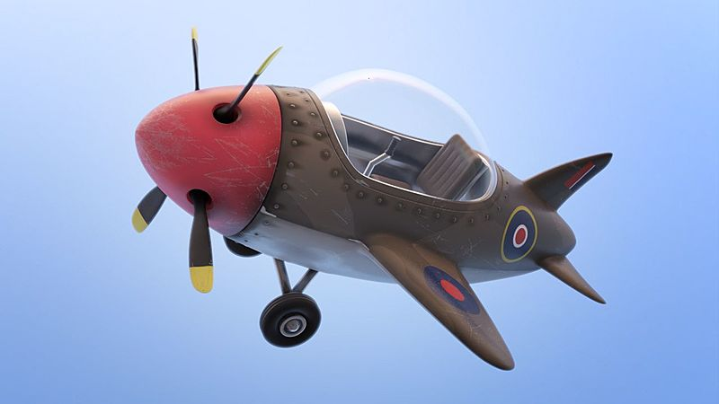 Texturing the Simple Airplane