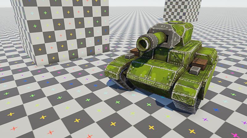 Tank Game Asset Creation Pt 2