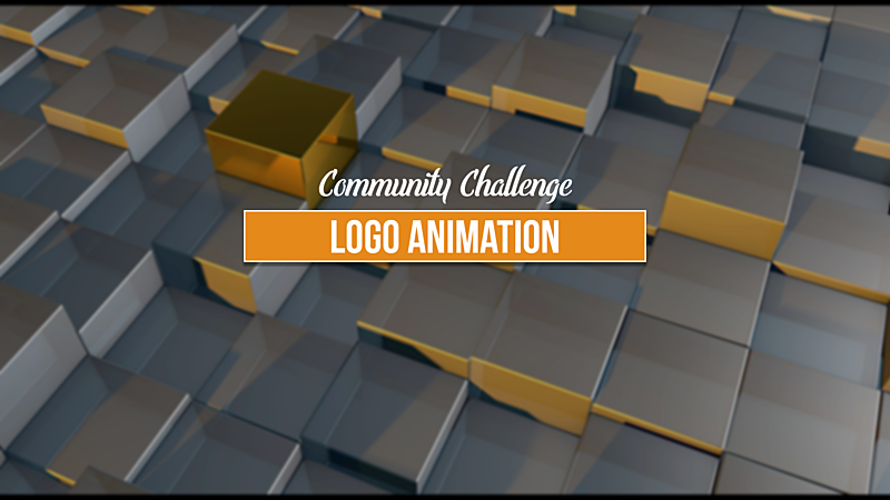 Community Challenge - Animating a Logo