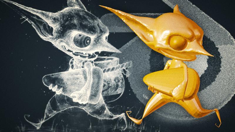 Goblin Sculpt for Halloween: Episode II
