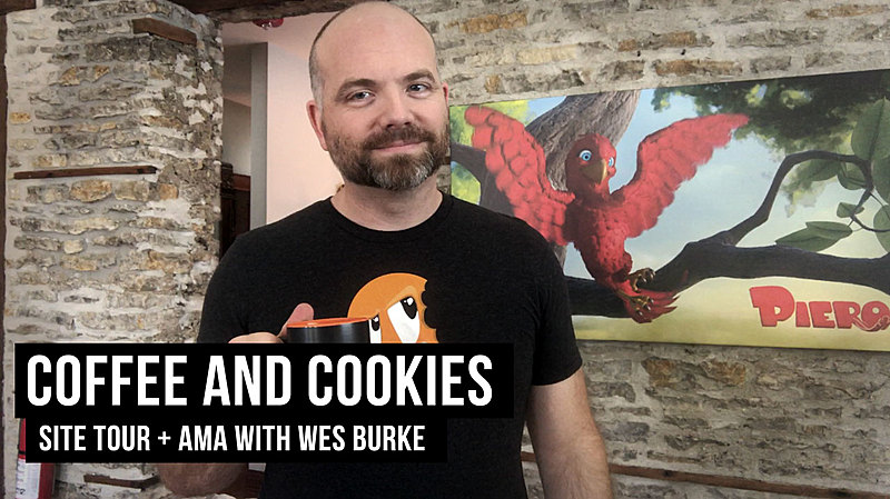 Cookies & Coffee: Come Hang with Wes
