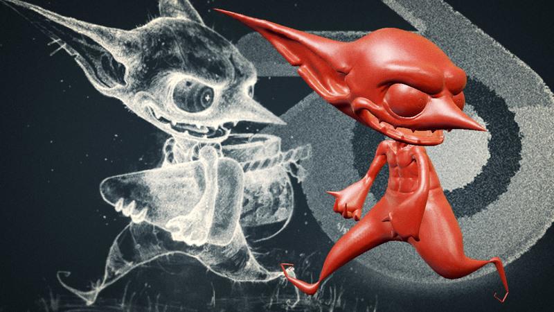Goblin Sculpt for Halloween: Episode III
