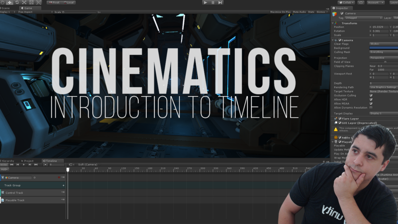 Unity Cinematics: Using the Timeline