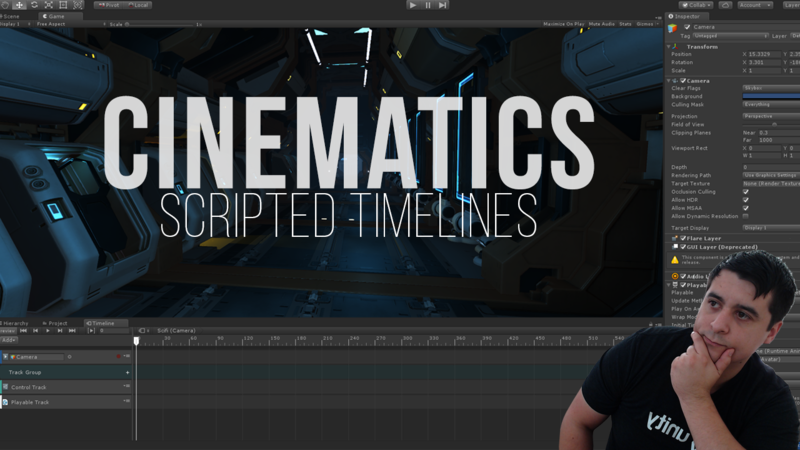 Unity Cinematics: Scripted Timelines