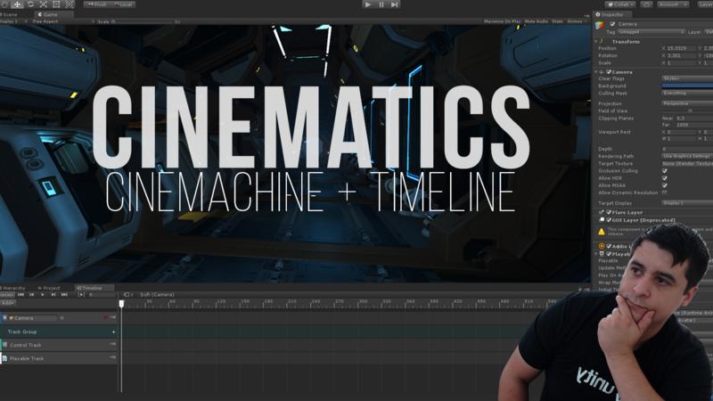 Unity Cinematics: Cinemachine + Timeline