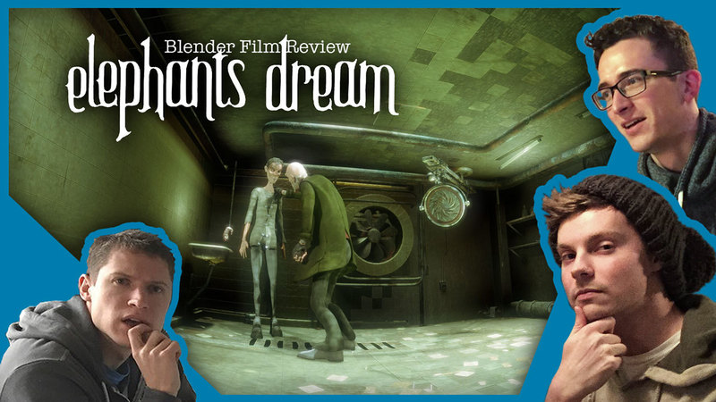 "Blender Film Review: ""Elephants Dream"""