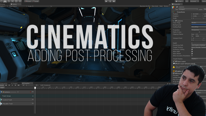 Unity Cinematics: Adding Post Processing