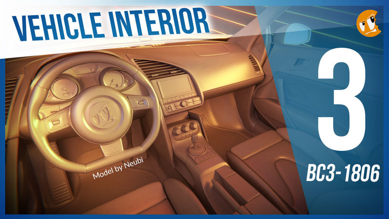 Vehicle Interior Modeling - BC3-1806 - Week 3
