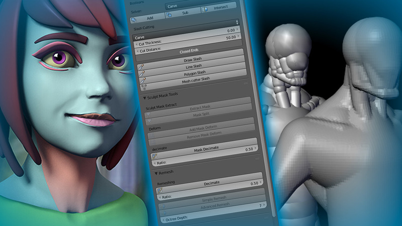Blender Add-On Showcase: Sculpt Toolkit