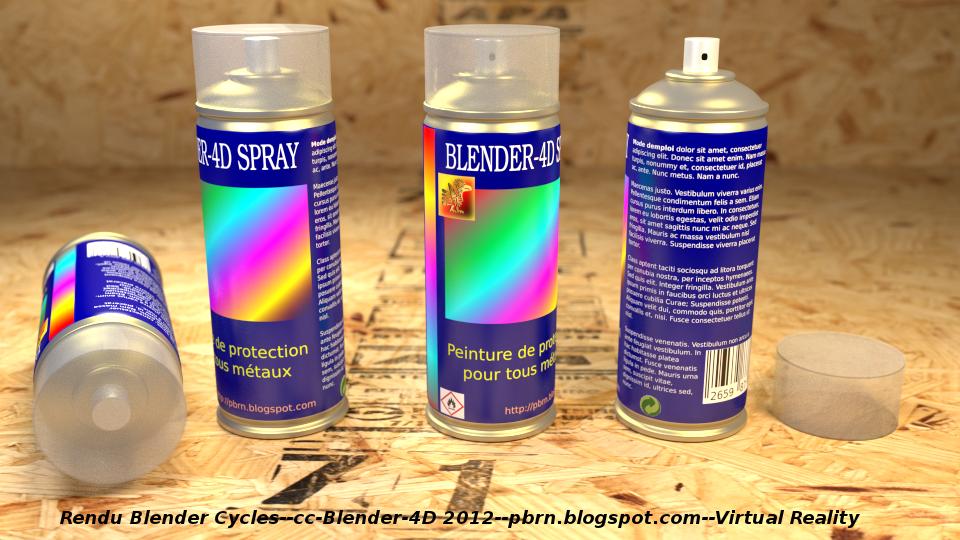 Blender-4d Spray - CG Cookie