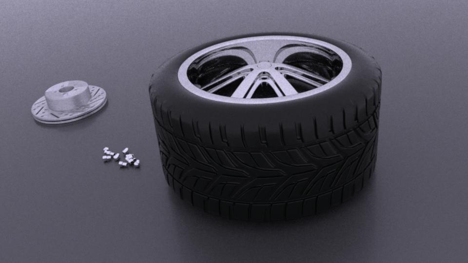 Wheel scene