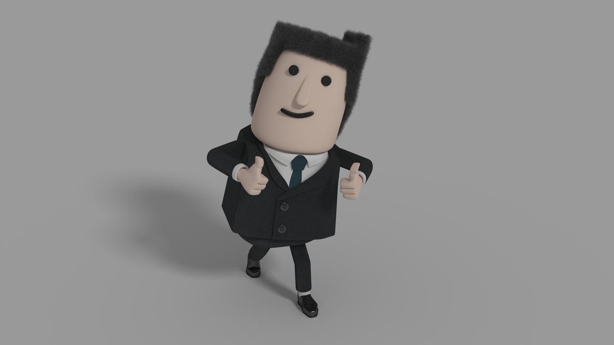 Blocky Man