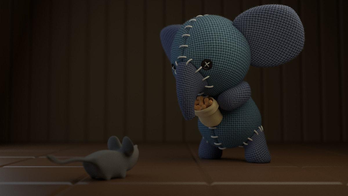 Cute little Elephant