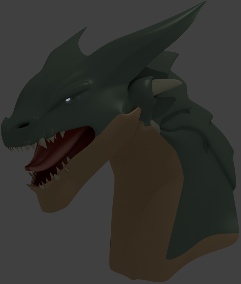 Creating a Stylized Dragon - Part 1