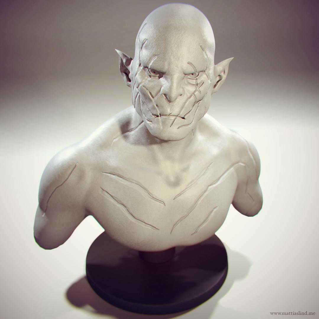 Azog The Defiler – Sculpt
