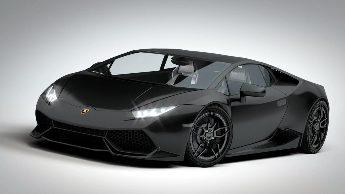 Black Lamborghini Huracan Lp 610 4 Cg Cookie
