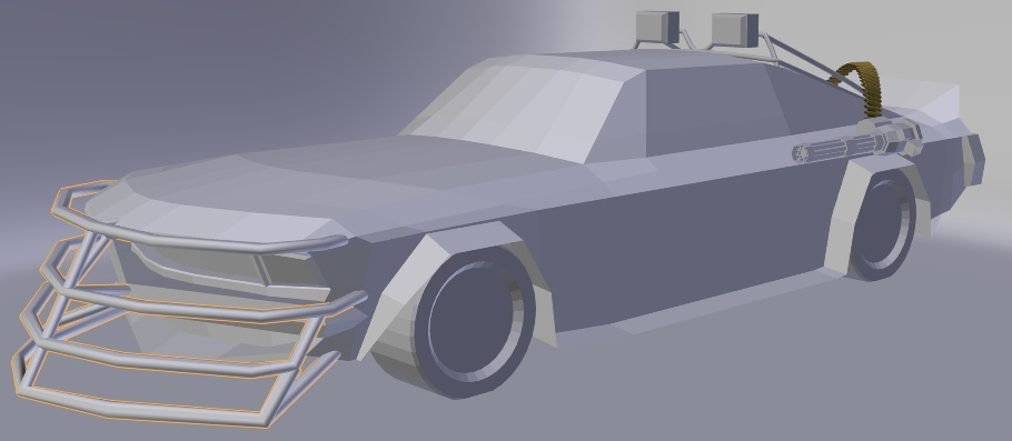Modeling a Post Apocalyptic Vehicle-03