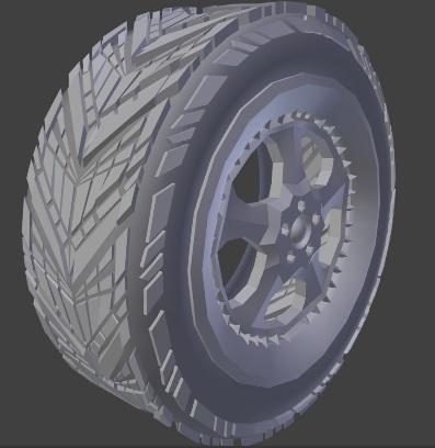 Modeling a Post Apocalyptic Vehicle-05