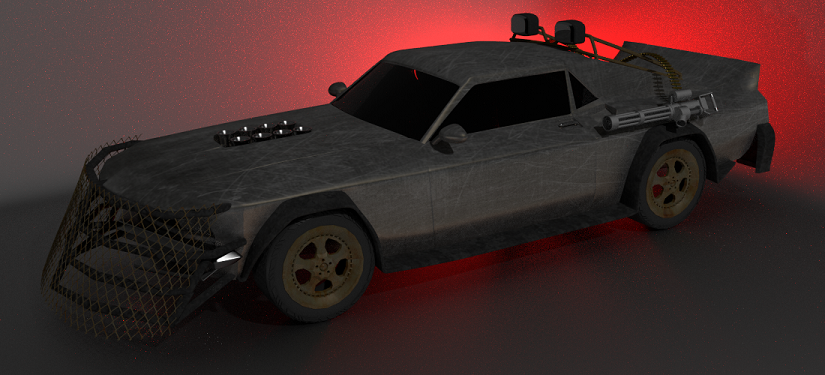 Modeling a Post Apocalyptic Vehicle