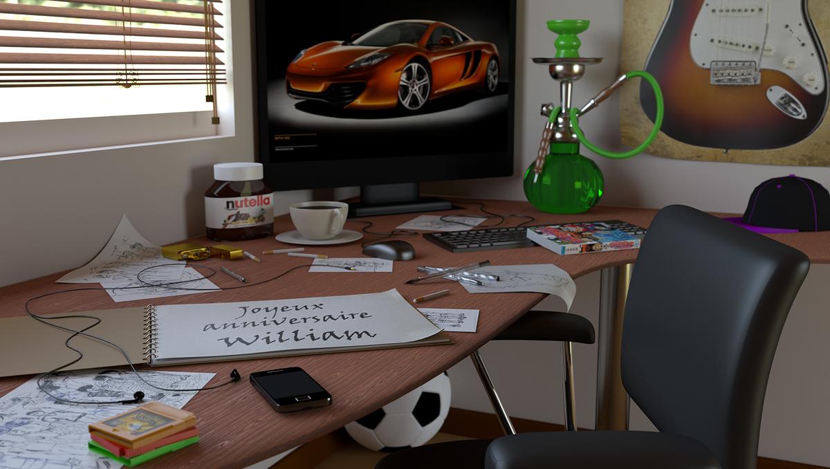 Wills desk