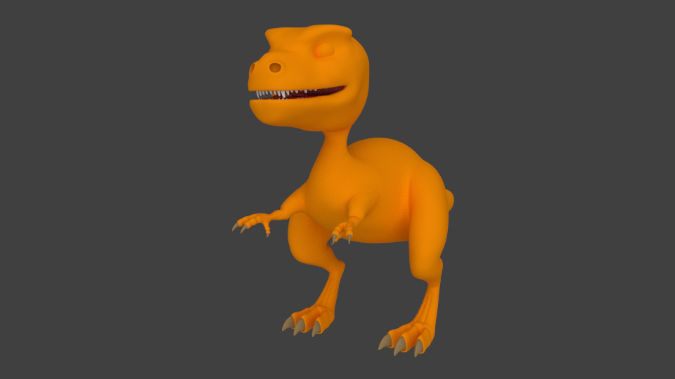 Dino early color