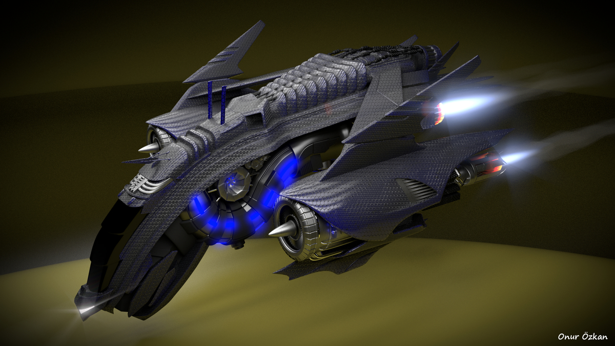 Alien Scout Ship