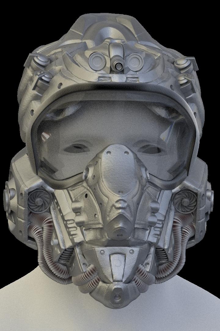 Helmet retopo question