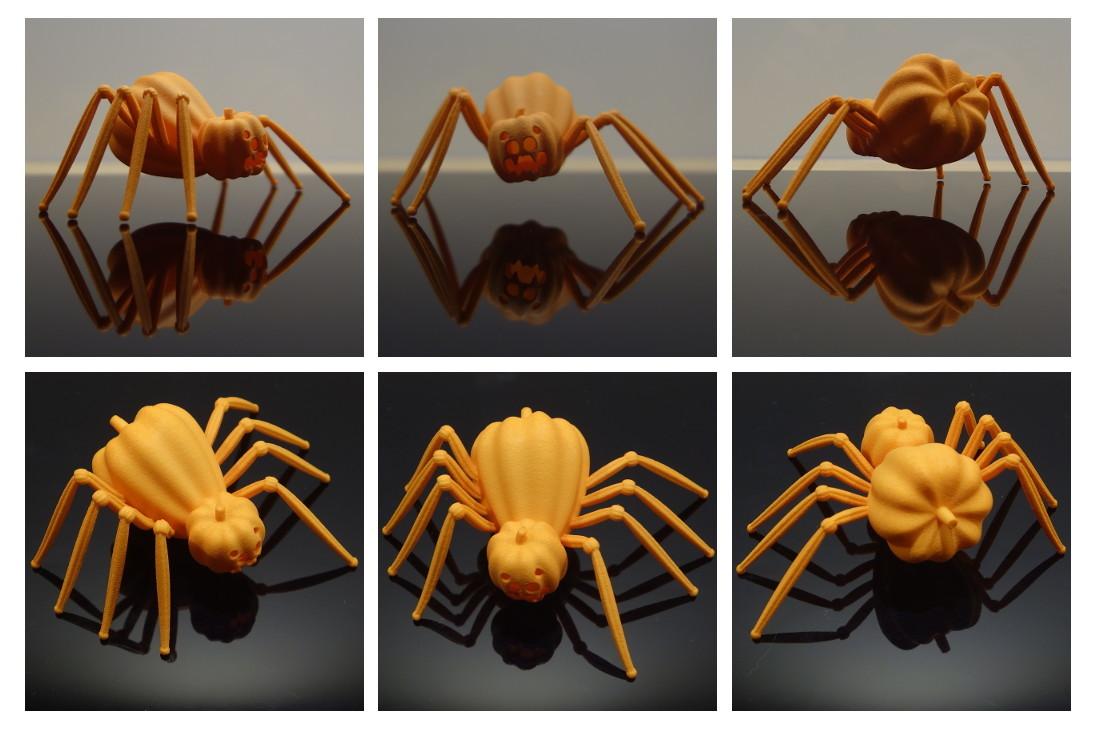 Pumpkin spider