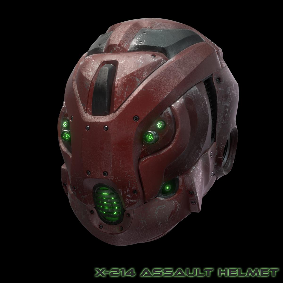X-214 Assault Helmet