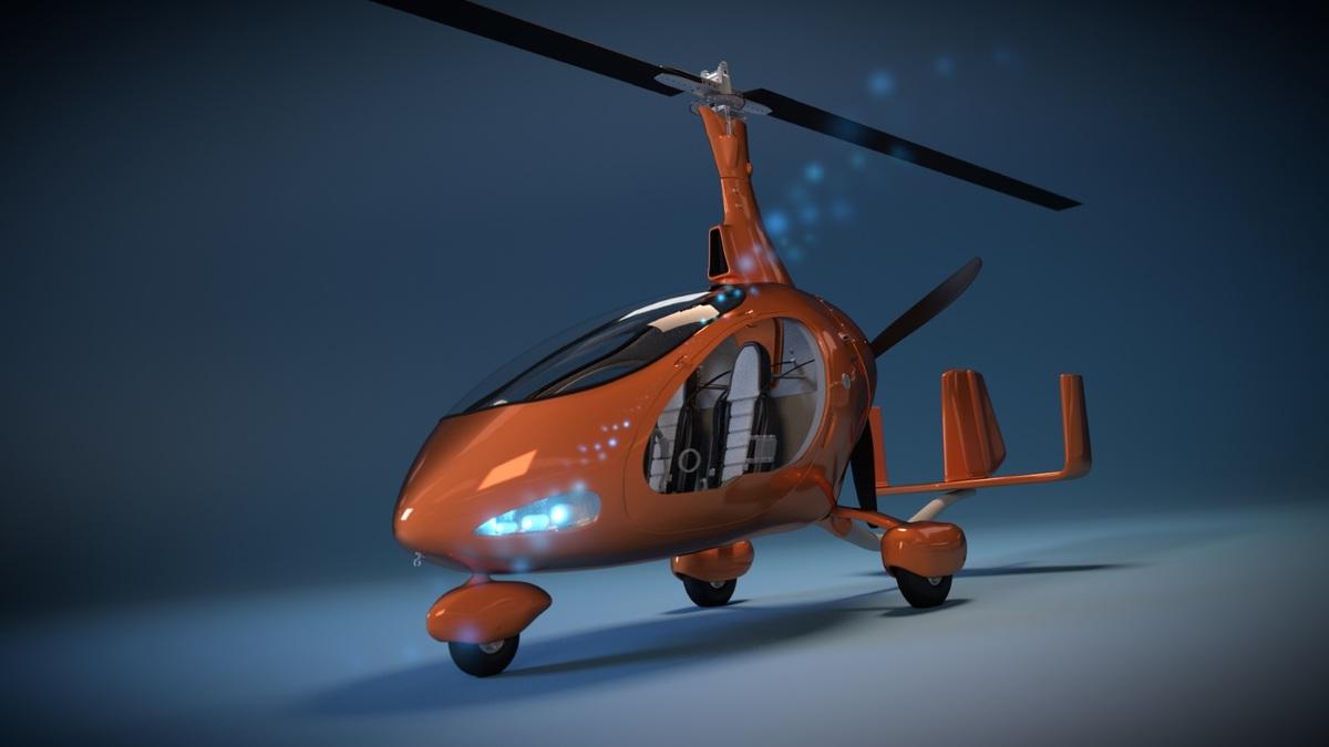 Cavalon Autogyro WIP