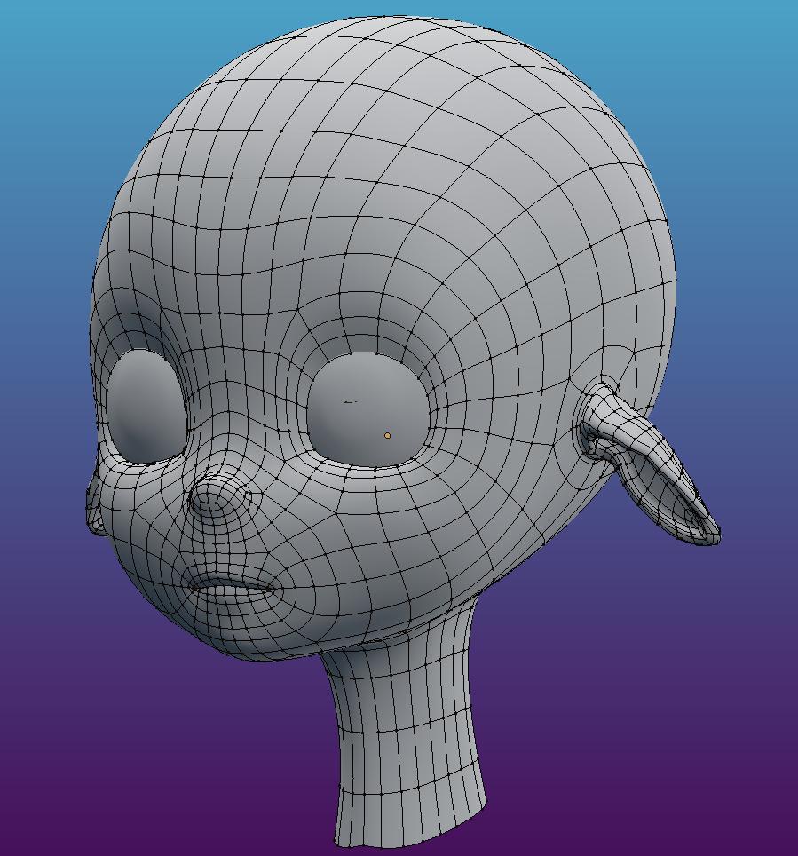 Character Head + Ear