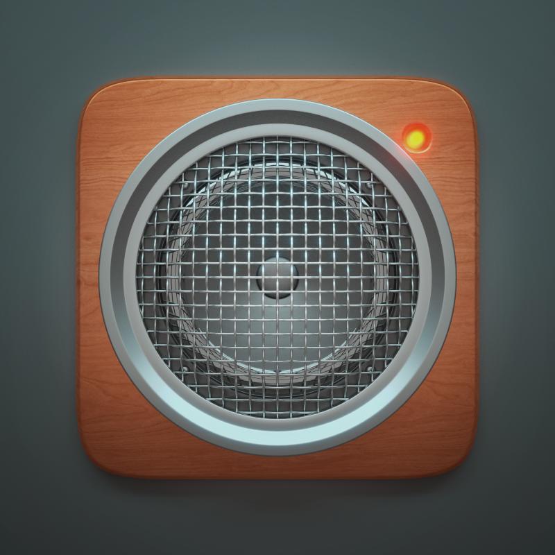 3D Speaker Icon