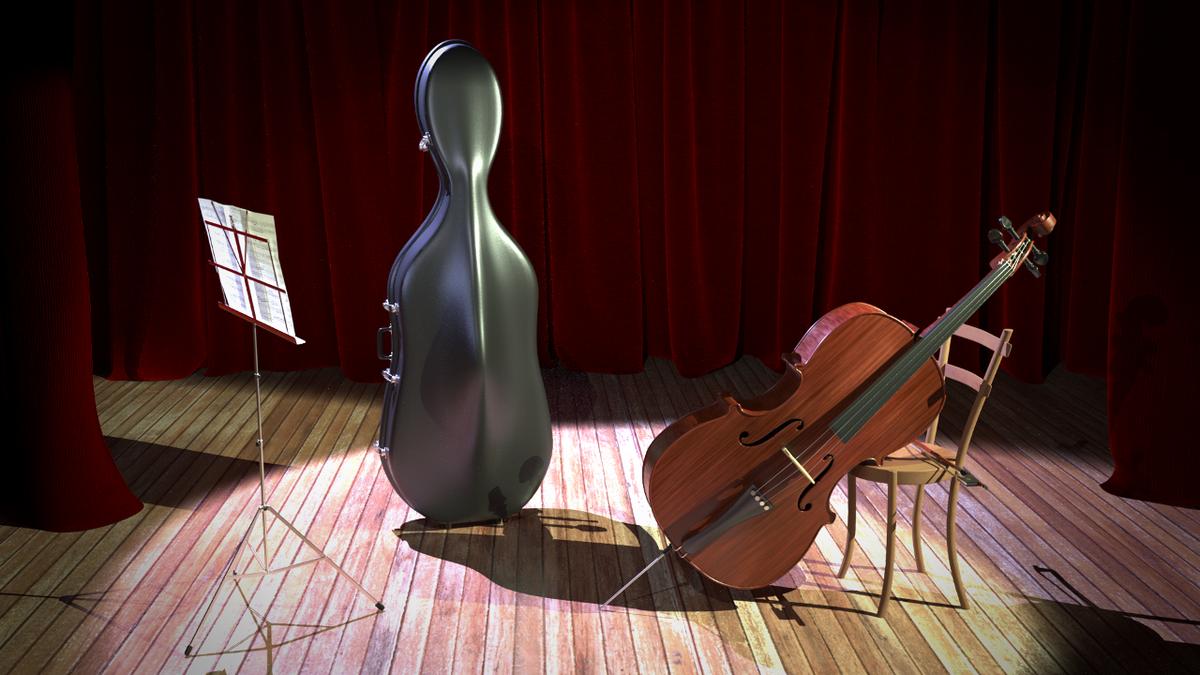Violoncello Scene