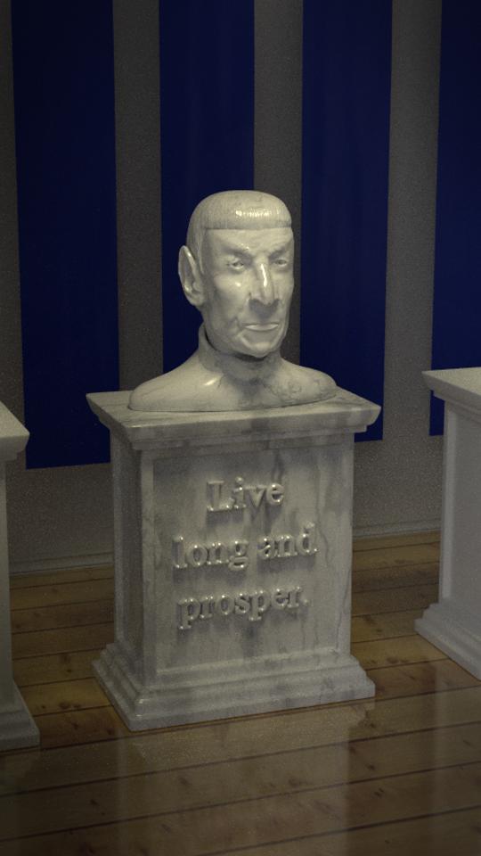Spock — Leonard Nimoy Tribute