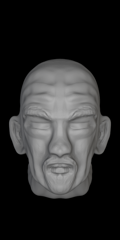 Head Sculpt Test