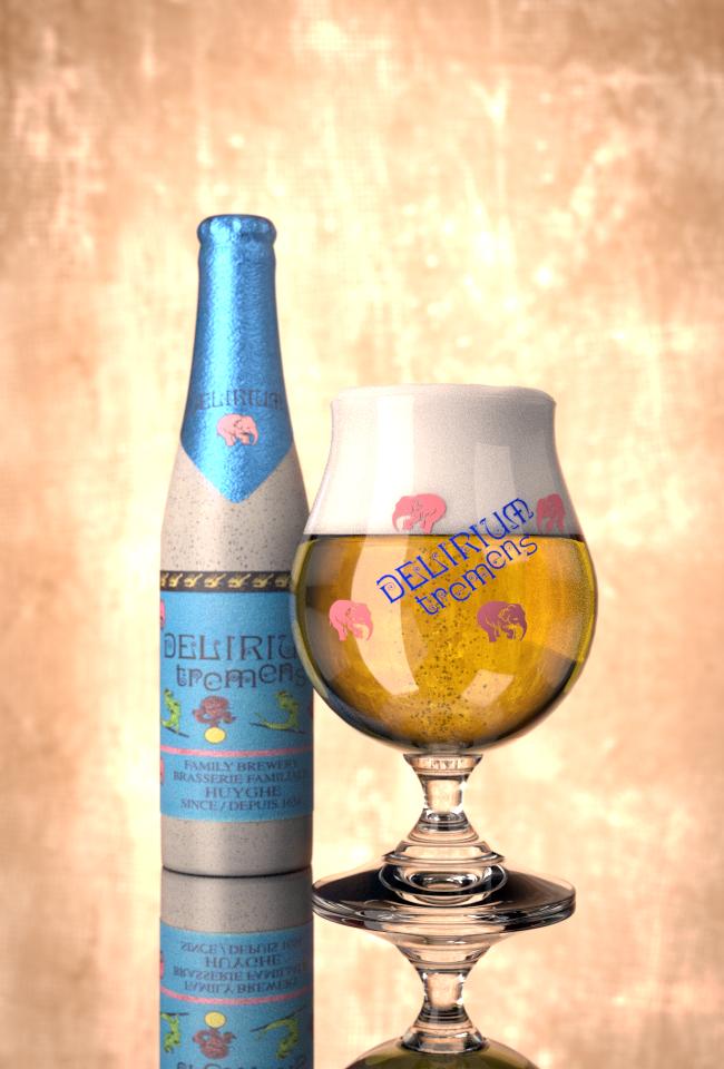 Delirium Tremens - A Belgian beer