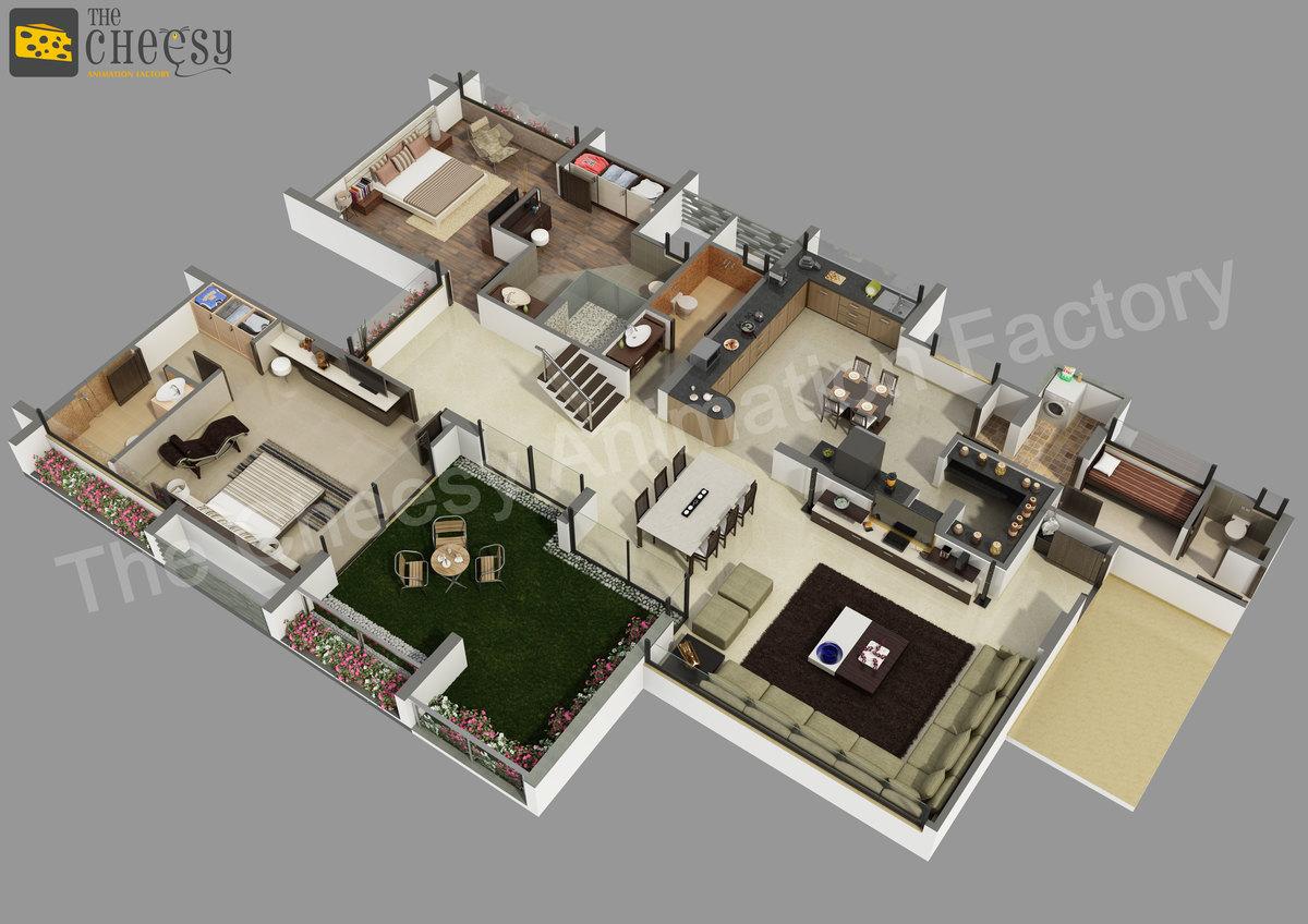3d floor plan rendering service provider studio cg cookie for 3d floor plan rendering